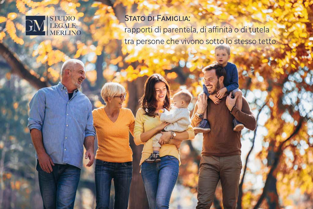 Cos'è lo stato di Famiglia?