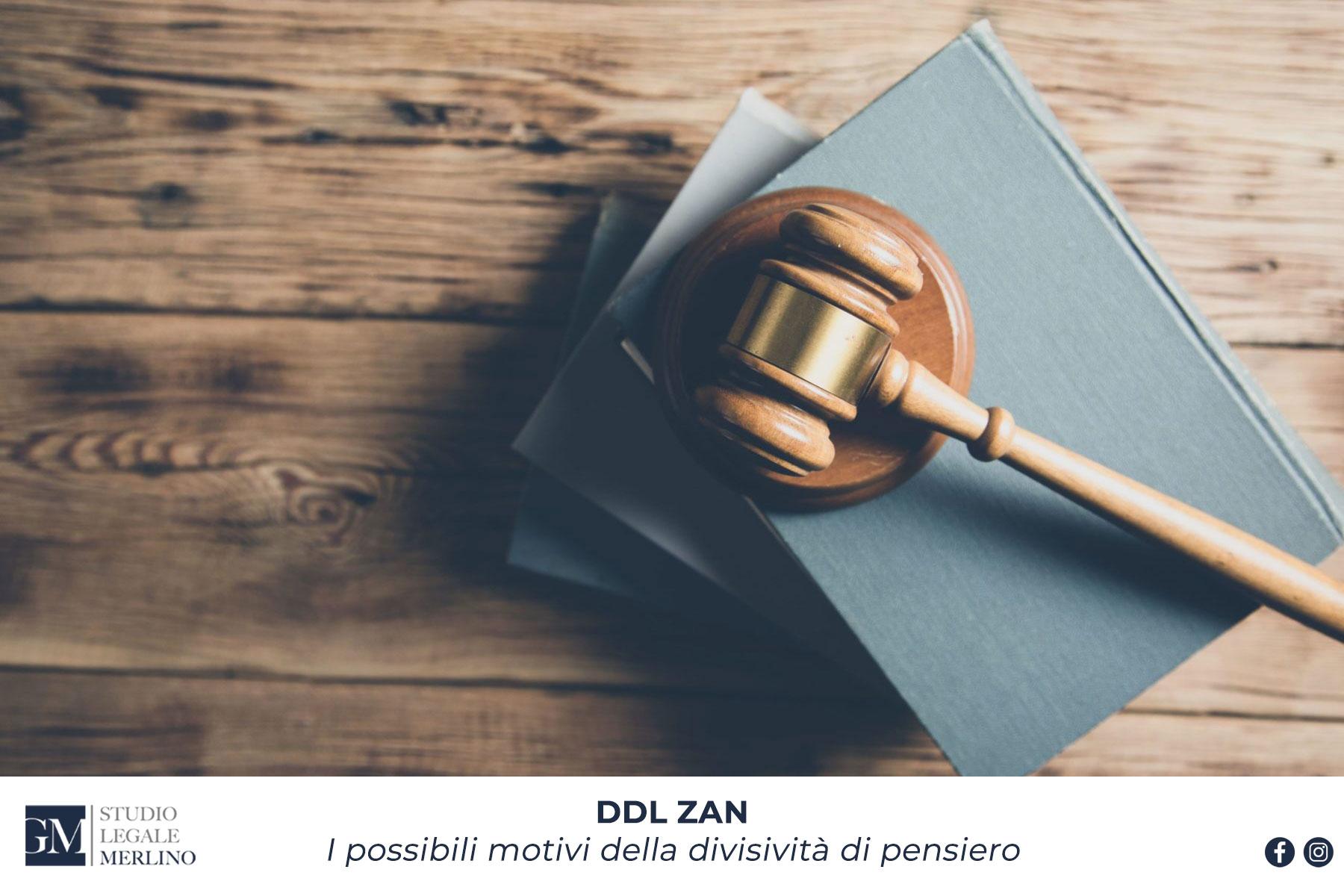 DDL ZAN, i possibili motivi della divisività di pensiero