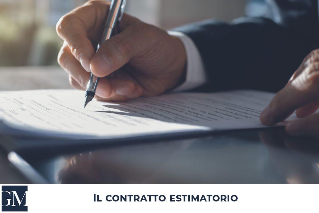 Il contratto estimatorio